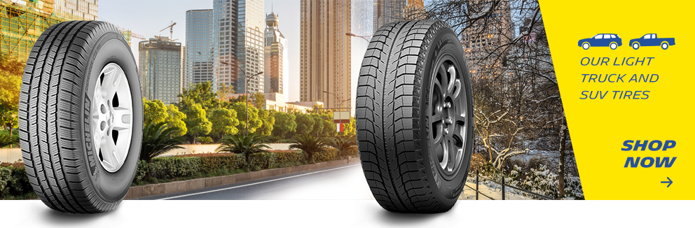 Our Light truck and SUV Tires Shop Now